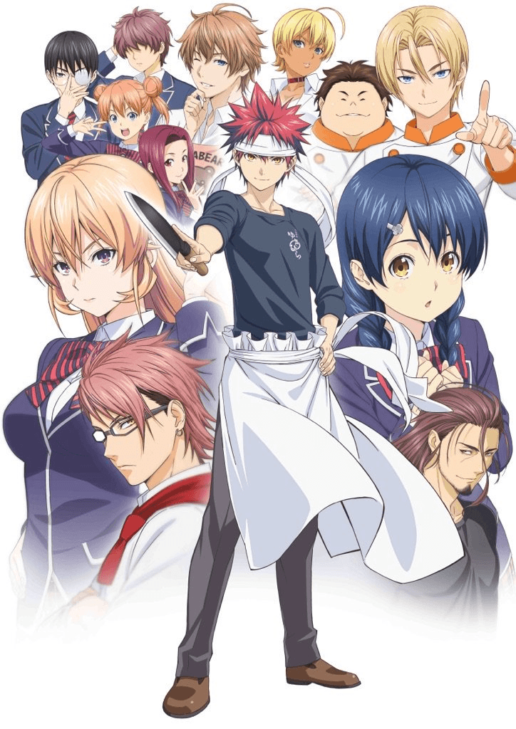 Food Wars! Shokugeki no Soma: San no Sara